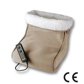 Электрогрелка для ног Beurer FWM40 с функцией массажа. Обогреватель для ног